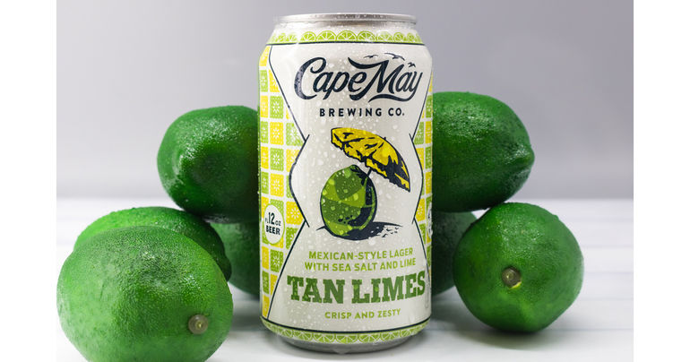 Cape May Brewing Co. Debuts Tan Limes Mexican Lager