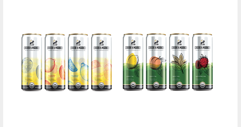 Crook & Marker Launches Line of Spiked Teas and Spiked Lemonades