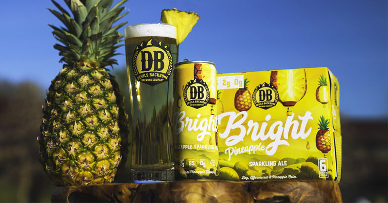 Devils Backbone Brewing Co. Announces New Bright Sparkling Ale Variant with Pineapple