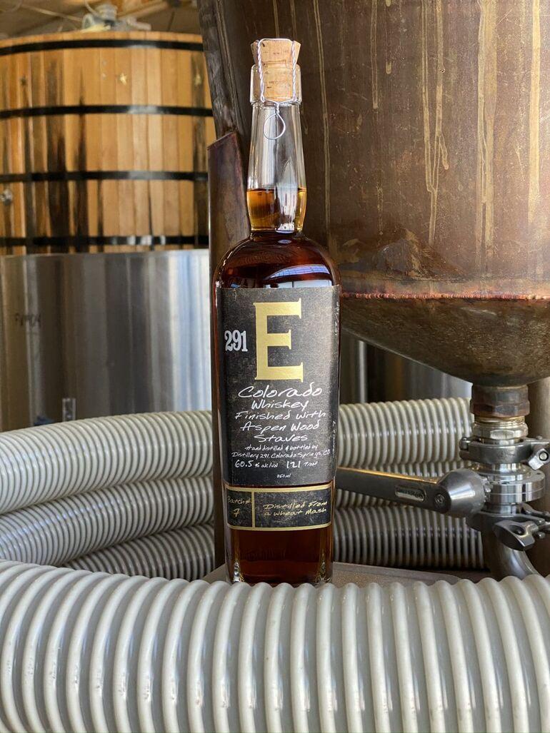 """Distillery 291 Releases 291 """"E-Batch"""" #7 Colorado Whiskey"""