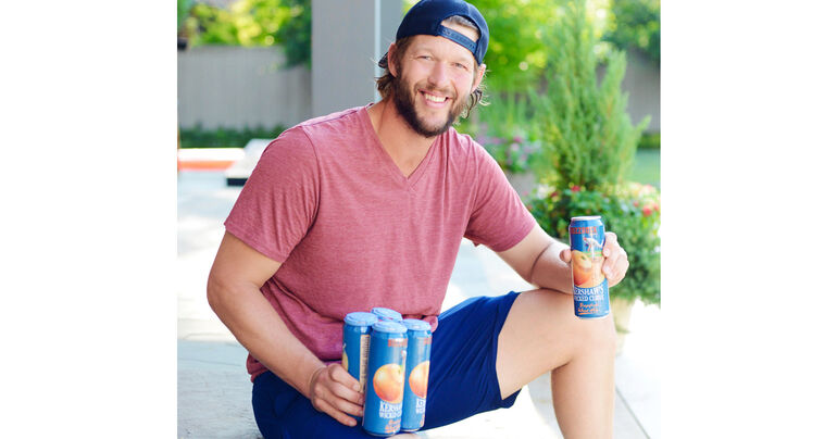 Dodgers' Clayton Kershaw Partners with BuzzRock Brewing Co. on Kershaw's Wicked Curve Grapefruit Wheat Ale