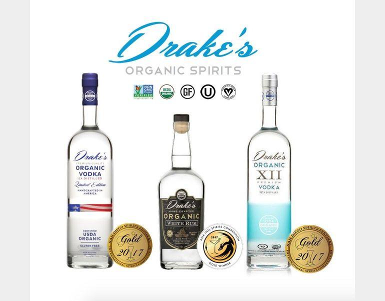 Drake's Organic Spirits Expands to Florida