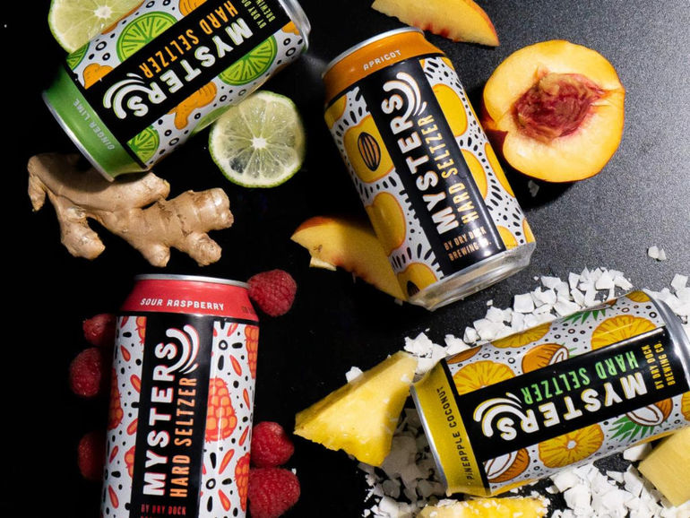Dry Dock Brewing Co. Launches Mysters Hard Seltzer