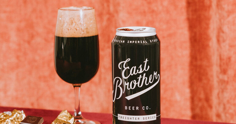 East Brother Beer Co. Announces New Release of Russian Imperial Stout