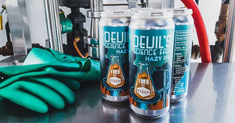 Everybody's Brewing and Stoup Brewing Debut Hazy IPA Collaboration
