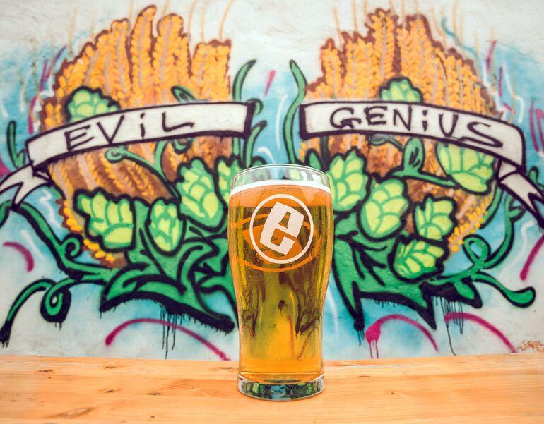 Evil Genius Beer Co.Tour