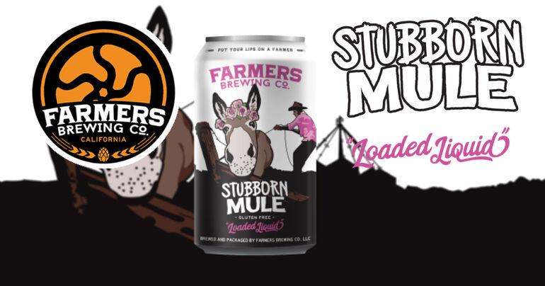 Farmers Brewing Co. Releases Stubborn Mule Gluten-Free Loaded Liquid