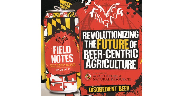 Flying Dog Brewery & University of Maryland Release 2020 Field Notes Pale Ale
