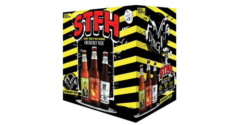 """Flying Dog Brewery Implores Drinkers to """"Stay the F Home"""" With New Variety Pack"""