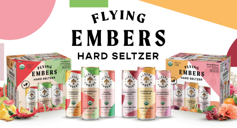 Flying Embers Announces First Hard Seltzer with Probiotics