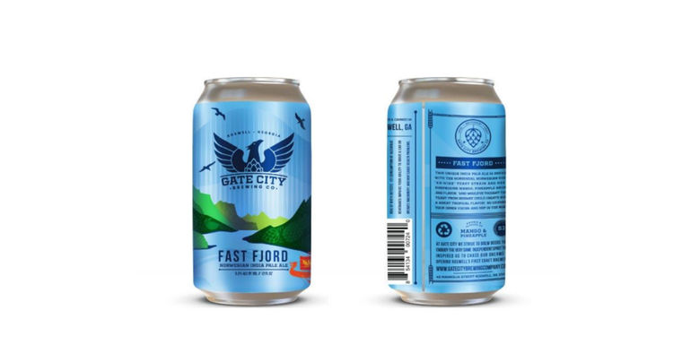 Gate City Brewing Co. Debuts Fast Fjord IPA in Cans