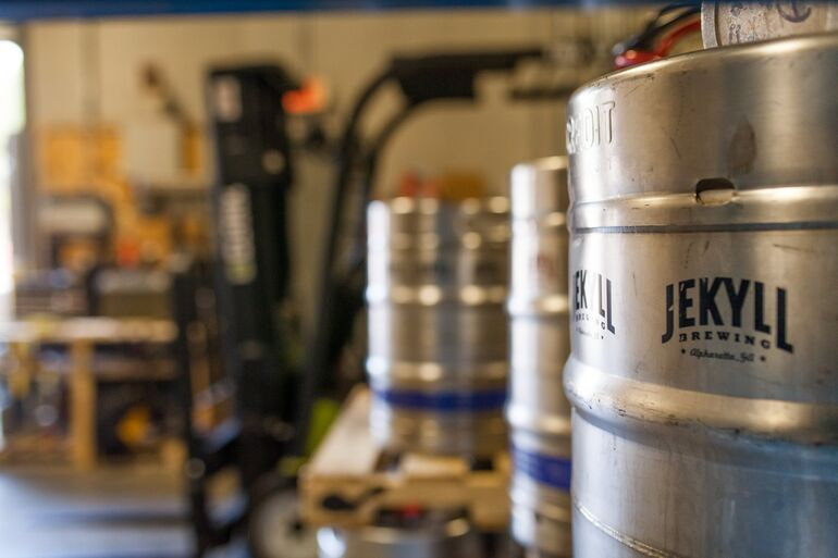 In just a few short years, Jekyll Brewing has made a name for itself with consistent quality and a focus on community.