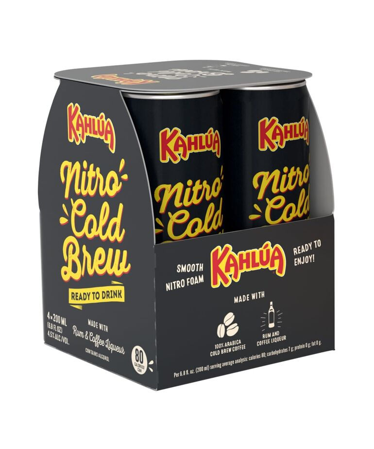 Kahlúa Unveils Canned Nitro Cold Brew Coffee Cocktail