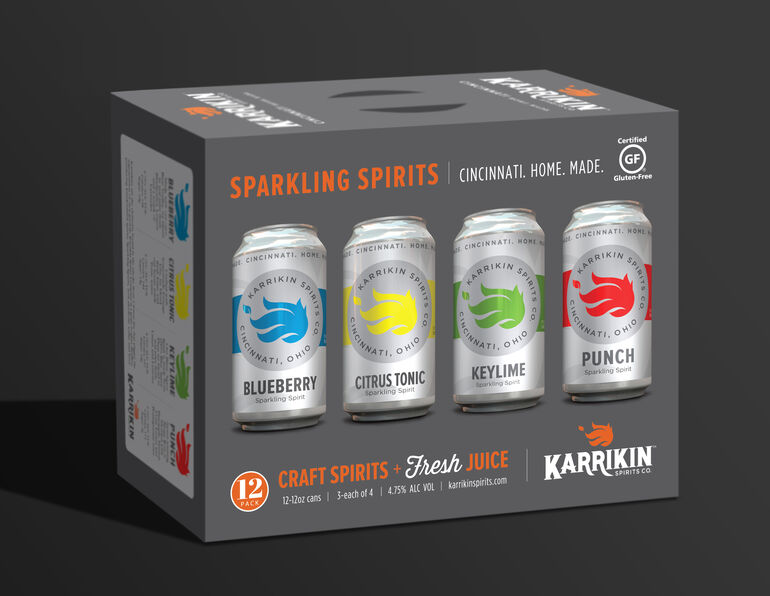 Karrikin Spirits Company Launches Mixed 12-Packs of Sparkling Spirits