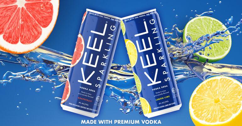 KEEL Vodka Launches KEEL Sparkling, a Vodka-based Hard Seltzer