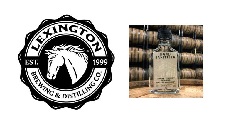 Lexington Brewing & Distilling Co. Uses Alcohol to Produce Free Hand Sanitizer