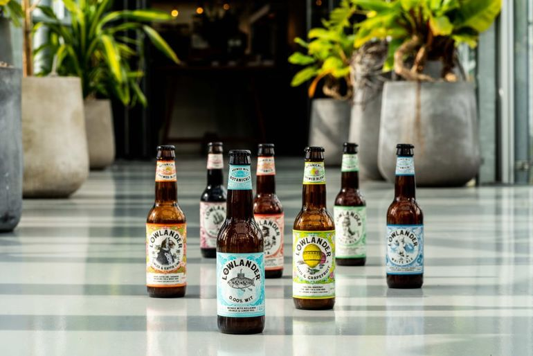 Lowlander Botanical Beer Announces Distribution Partnership with Westons Cider in UK