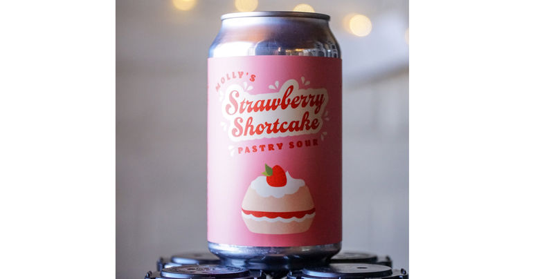 Molly's Spirits and Crooked Stave Collaborate on Strawberry Shortcake Pastry Sour