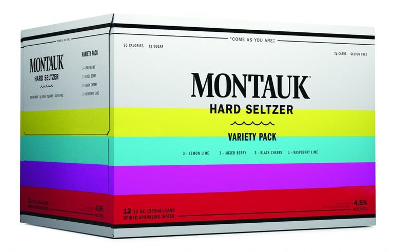 Montauk Brewing Co. Launches Hard Seltzer Line
