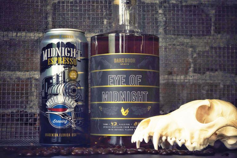 Motorworks Brewing Partners with Dark Door Spirits on Eye of Midnight Whiskey