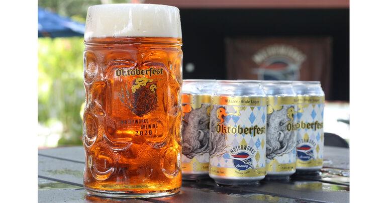 Motorworks Brewing Unveils 2020 Oktoberfest Beer