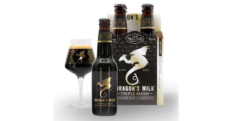New Holland Brewing Co. Announces Return of Dragon's Milk Triple Mash