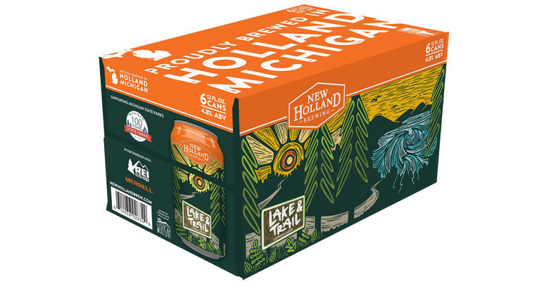 New Holland Brewing Co. Announces Return of Lake & Trail Lager