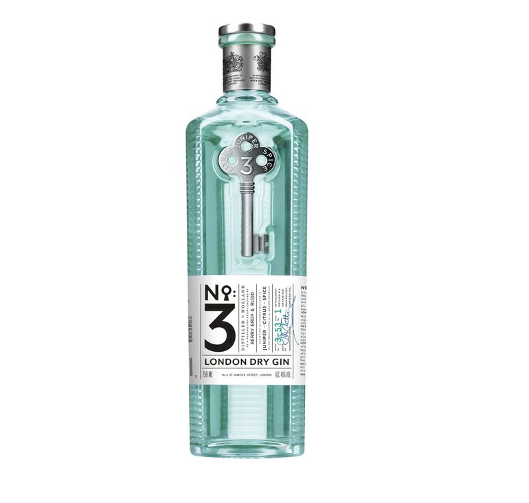 No.3 London Dry Gin Unveils New Bottle and Brand Platform