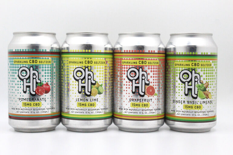 Oh Hi Beverages Debuts Online Shop For CBD Seltzer