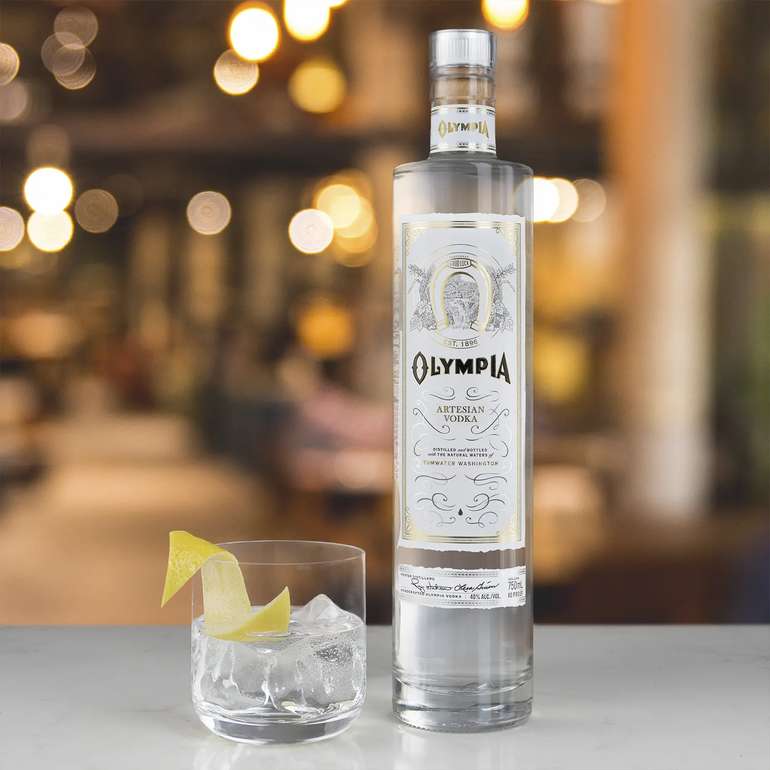 Olympia Beer Debuts Olympia Artesian Vodka In Pacific Northwest
