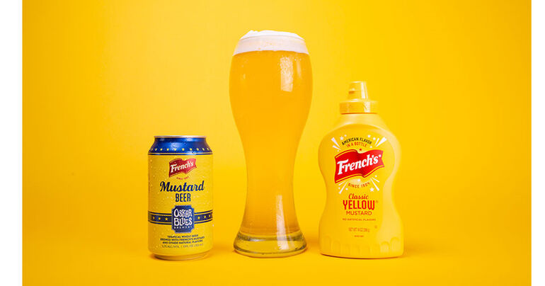 Oskar Blues Brewery Releases Mustard Beer Made with French's Mustard