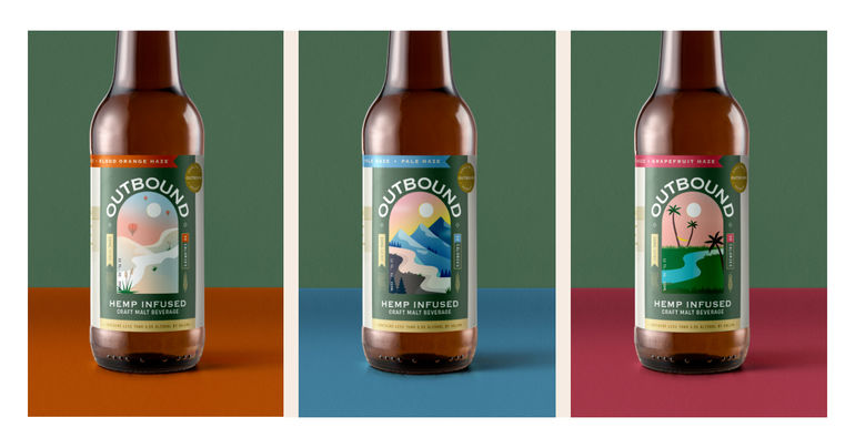 Outbound Brewing Launches THC/CBD Beverages and Non-Alcoholic Beers