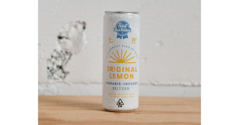 Pabst Blue Ribbon Cannabis-Infused Seltzer Debuts In California
