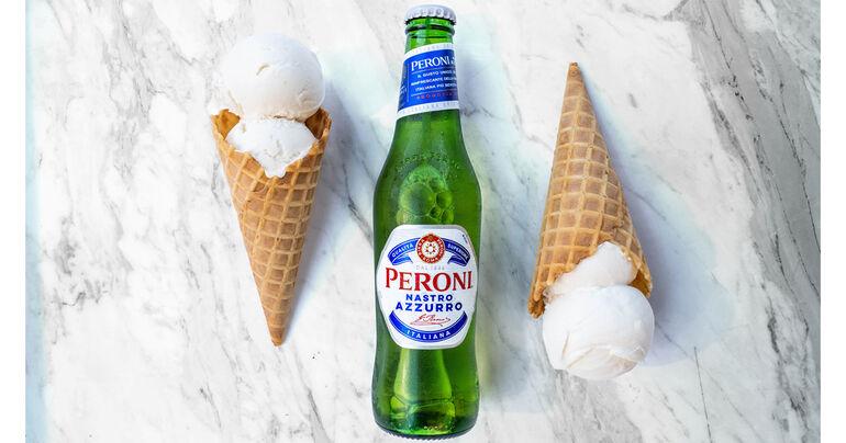 Peroni Partners with il laboratorio del gelato on Beer-Infused Gelato