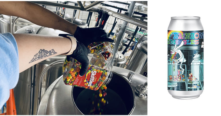 Pontoon Brewing Partners with Sprayberry Bottle Shop on Trix Cereal and Skittles Beer