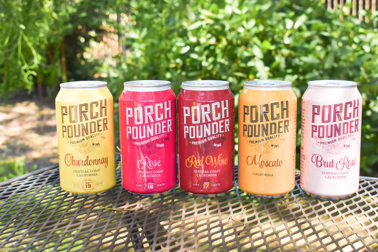 Porch Pounder Canned Wines Expands Nationwide