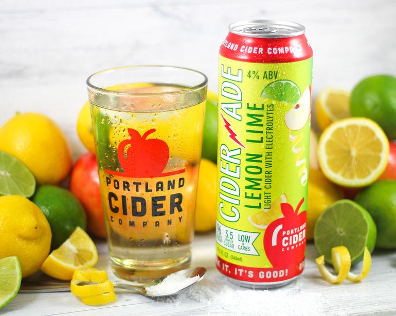Portland Cider Co. Unveils Ciderade Low-Carb Light Cider with Electrolytes