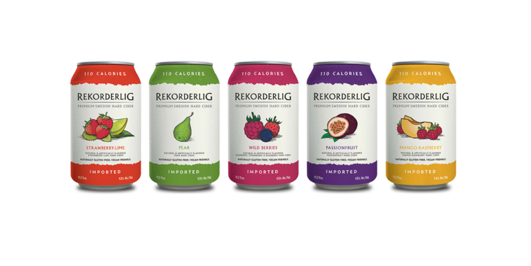 Rekorderlig Debuts Low-Calorie Cider for Summer