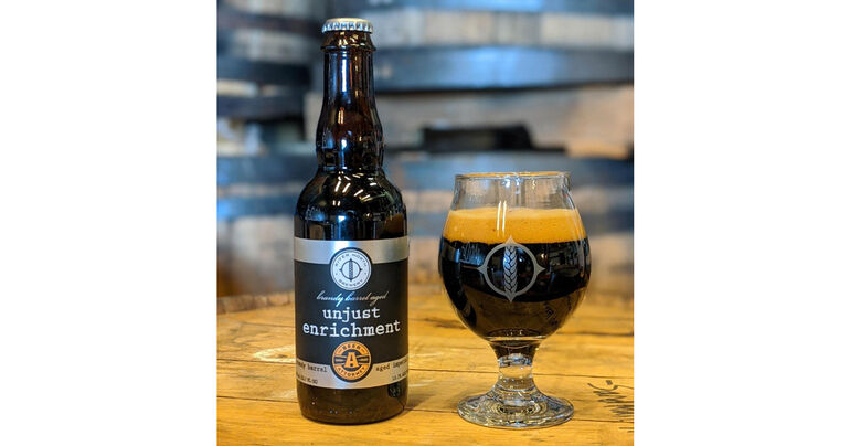 River North Brewery Releases Unjust Enrichment Brandy Barrel Aged Imperial Stout
