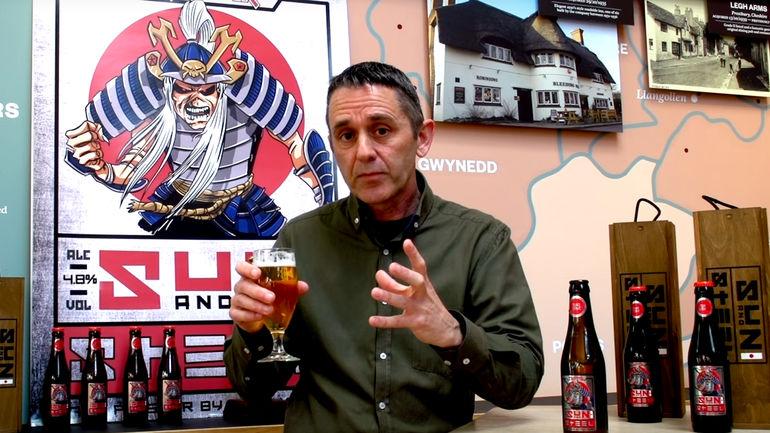 Robinsons Brewery Head Brewer Martyn Weeks Talks TROOPER Sun and Steel
