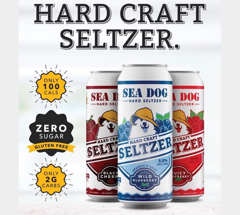 Sea Dog Brewing Co. Introduces Small-Batch Hard Seltzer