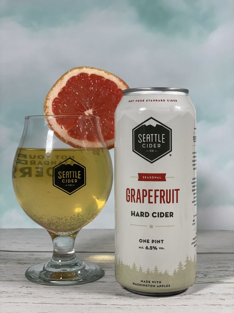 Seattle Cider Co. Adds Grapefruit Hard Cider to Seasonal Lineup