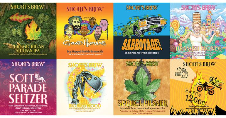 Short's Brewing Co Announces Q4 Release Schedule