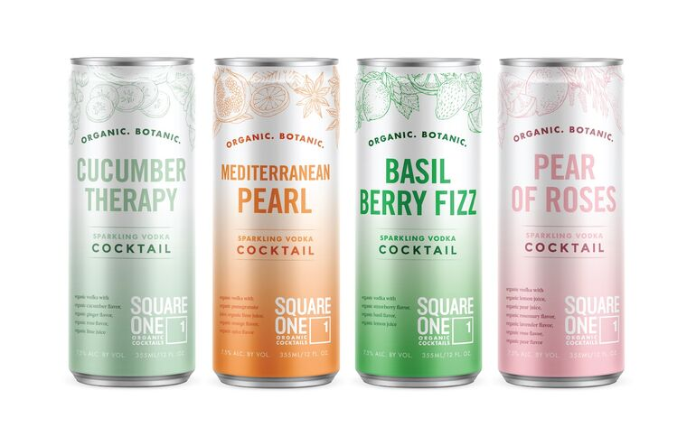 Square One Organic Spirits Launches Organic Ready-to-Drink Cocktails