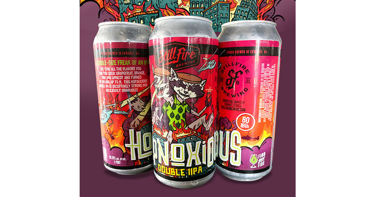 StillFire Brewing Introduces Hopnoxious Double IPA