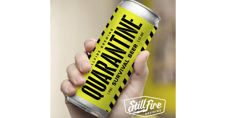 StillFire Brewing Releases Quarantine Survival Beer to Raise Money for Nonprofit