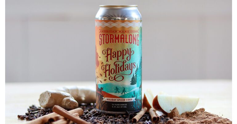 Stormalong Cider Releases Unfiltered Spiced Cider Happy Holidays