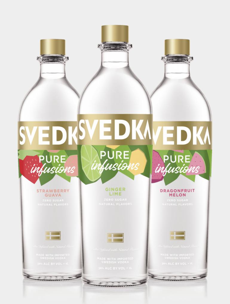 SVEDKA Vodka Launches Pure Infusions Line