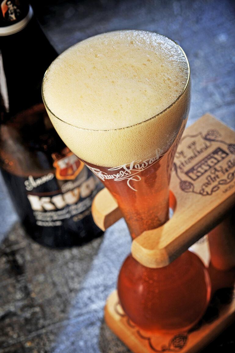 Pauwel Kwak by Bosteels Brewery