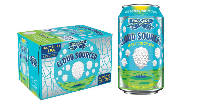 Two Roads Brewing Co. Releases Cloud Sourced Hazy IPA